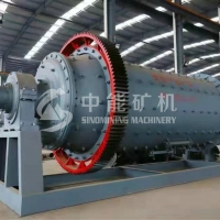 Wholesale Bentonite Sand Stone Dry Grinding Zirconia 15t/H Mining Ball Mill from china suppliers