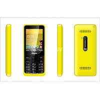 Wholesale Yellow Dual Sim Cards Dual Standby Phone 8G with Four frequency from china suppliers