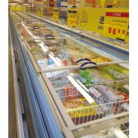 China Seafood Supermarket Island Freezer -20°C - 18°C With Sliding Glass Door on sale