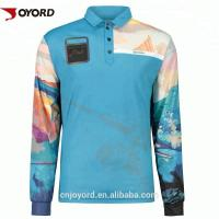 Wholesale Tournament Custom Fishing Jerseys SGS Certification UPF >50  Stain Resistant from china suppliers