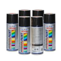 Buy cheap Low Chemical Odor Acrylic Spray Paint Black Silicone Resin Non Toxic Heat from wholesalers