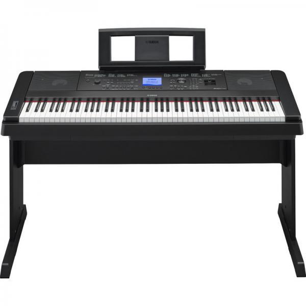 yamaha dgx 660 portable grand digital piano of item 106823792
