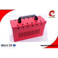 Wholesale Portable Foldable handle Steel Safety Group Lockout Box Kit ZC-X02S from china suppliers