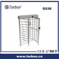 Wholesale Card Reader 304 Stainless Steel Turnstiles , Electronic Turnstile Gates from china suppliers