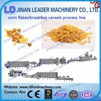 Wholesale Corn flakes breakfast cereals snacks process line puffy snacks food making machine from china suppliers