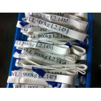 Wholesale Safety Factor 5 To 1 Endless Webbing Sling 900kg White Color OEM Available from china suppliers