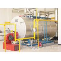 China Gas Fired water tube Condensing Boilers Manufacturer on sale