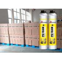 Wholesale 750ml Winter PU Foam Sealant / Polyurethane Foam Spary Ambient Temperature Heat / Cold Resistant from china suppliers