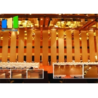 Wholesale Interior Wood Movable Temporary Sliding Wall Sound Proof Partition from china suppliers
