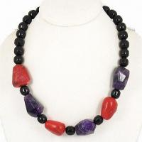 China Hematite Magnetic/Bead Necklace, Nature Stone with Hematite for Female, Energy Jewelry on sale