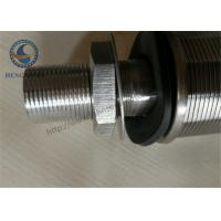 Wholesale 316L Stainless Steel Wedge WIre Slot Water Screen Nozzle 57mm Diameter from china suppliers