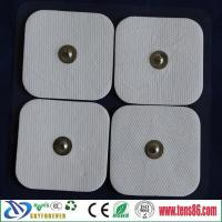 China 5X5cm Self adhesive electrodes pads For TENS EMS massager machine on sale