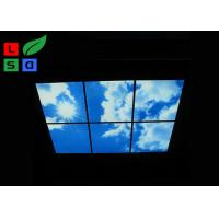 Wholesale Custom Design LED Shop Display Blue Sky LED Flat Panel Light For Ceiling Decoration from china suppliers