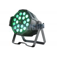 China Dled Par Zoom 18x10Watt RGBW 4 In 1 Wall Wash Spot Lights With 15 Degree Beam Angle on sale