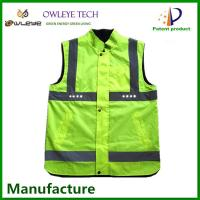Wholesale SMD LED reflective clothing/walking safety LED waistcoat reflective/cheap safety LED reflective vest from china suppliers