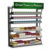 Wholesale 4FT LP 480 Packs Cigarette Display Rack Tobacco Fixtures Powder Coated Frame from china suppliers