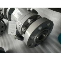 Wholesale Split Body Construction Floating Ball Valve BSP NPT SW ANSI B 1.20.1 FB RB Intergral Seat from china suppliers