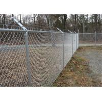 Hot Dipped Galvanized Iron Wire Mesh Chain Link Fence For