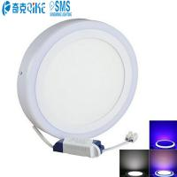 Wholesale Round Flush Mount Lighting-Ceiling Down Lighting Double Color 18+6W LED Panel Light from china suppliers