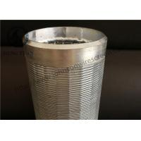 Wholesale Johnson Wound Water Well Screen Low Carbon Steel Galvanized Material from china suppliers