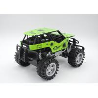 Wholesale Metal Shell Boys Rock Crawler Buggy Toy Friction Powered 4 Color 2 Size from china suppliers
