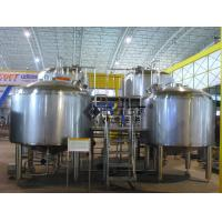 Wholesale 2000L Large Scale Beer Brewing Equipment In Hotel , Restaurant , Brewpub from china suppliers