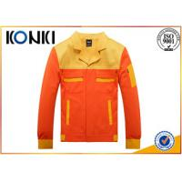 Wholesale Personalized Custom Jackets For Engineer , Safety Mens Uniform Jackets from china suppliers