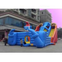 Wholesale Clown Bouncy Slide Large Inflatable Water Slides With Sun Cover from china suppliers