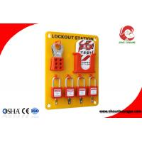 Wholesale High Quality Organic Glass 24 Tagout 20 Padlock Safety Lockout Stations from china suppliers
