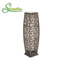 Wholesale Outdoor Decorative Rattan Solar Garden Lights Energy Saving 1800lm-7200lm from china suppliers