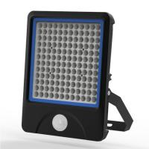 China 150W  15000LM  CRI >80 led floodlight with pir sensor , Ultra Sensitivity on sale