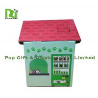 Wholesale Customization Cardboard Cat Scratcher House Display For Pet Retailers , Eco Friendly from china suppliers