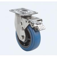 Wholesale SUS304 Stainless Steel PU Caster Wheel Heavy Duty Dual Ball Heat Treated Raceways from china suppliers