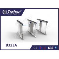 Wholesale Anti - Collision slience multiple Smart glass office  barrier optical low cost pedestrian  turnstiles from china suppliers