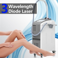 Wholesale Diode Depilation 808Nm Laser Removal Machine Triple Wavelengths from china suppliers