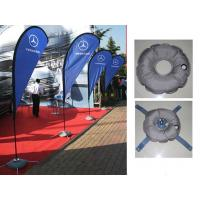 Buy cheap Teardrop Outdoor Marketing Flags 2.8 - 5.5m Chrome - Plated Iron Spike from wholesalers