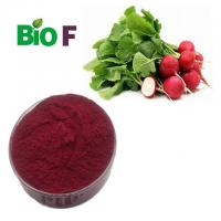 Anthocyanin Natural Pigment Powder Red Radish Root Extract For Beverages