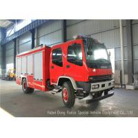 Wholesale ISUZU FVR EURO5 Water Foam Fire Fighting Vehicles For Fireman Department from china suppliers