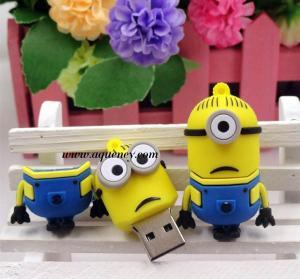 Wholesale Bulk Despicable Me USB Flash Drive 4GB, 8GB, 16GB, 32GB, 64GB USB 2.0 from china suppliers