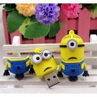Wholesale Cute design Cartoon minion usb flash drive for Despicable Me USB from china suppliers