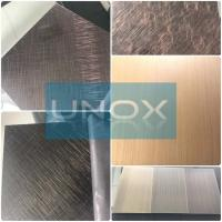 Wholesale ASTM A240 304 Hairline Bronze Stainless Steel Plate-Copper Plating Stainless Steel Decor Sheets from china suppliers