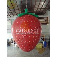 Wholesale Red 3m Height Strawberry Shaped Balloons With Digital Printing For Promotion from china suppliers