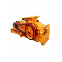 Wholesale Double Smooth Roll Crusher Machine , Limestone Roller Crusher For Sand Making from china suppliers