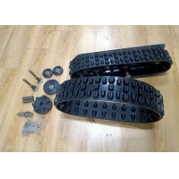 Wholesale Robot Rubber Track 118x60x20 With drivie wheel more light weight from china suppliers