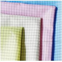 Wholesale Twill Cleanroom Antistatic ESD Fabric 5mm Grid Cloth For Industry Wokerwear from china suppliers