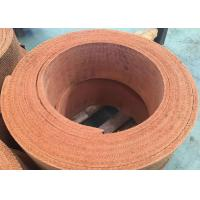 Wholesale Non-asbestos Brown Woven Brake Lining Material Winch Crane Woven Brake Lining from china suppliers