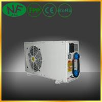 Hitachi rotary compressor air to water boiler heat pump for Hot air heating system