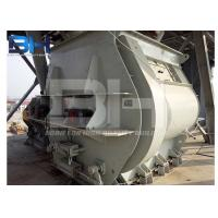 Wholesale Miniature Twin Shaft Dry Mortar Mixer With Paddle Structure CE ISO SGS Approved from china suppliers