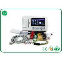 Wholesale Touch Screen Six Channel Portable ECG Machine with Software Electrocardiogram Color from china suppliers