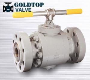 Wholesale Rtj Flanged Split Body Trunnion Ball Valve Asme B16.5 from china suppliers